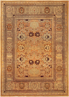 An Indian Amritsar Rug BB5191