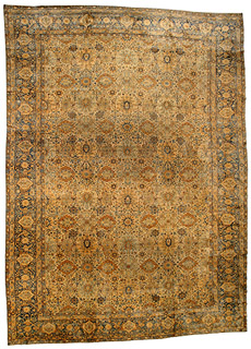 A Persian Kirman rug BB4329