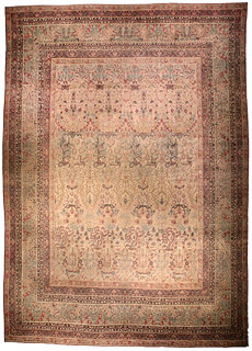 A Persian Kirman rug BB4587