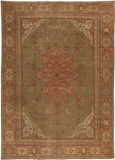 A Turkish Oushak Rug BB5448