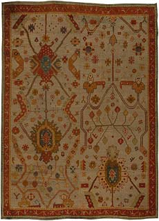 A Turkish Oushak Rug (size adjusted) BB5449