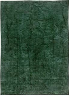 Contemporary Agua Green Rug 17x12 N10843