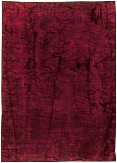 Contemporary Agua Red Rug 17x11 N10844