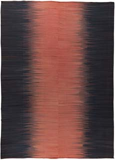 Contemporary Kisara - Turkish Modernist Kilim  16x12 N10852
