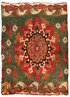 A French fragment rug BB4065