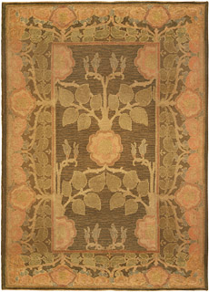 An Arts & Crafts by Voysey (Size Adjusted) Rug BB5187