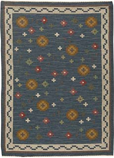 A Swedish Flat Weave Rug BB5454