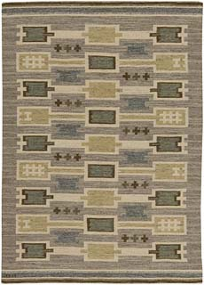 A Swedish Flat Weave Rug BB5460