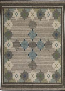 A Swedish Flat Weave Rug by Ulla Parkdahj BB5458
