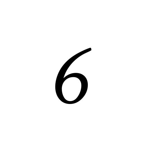 Aegyptus, Regular - 6