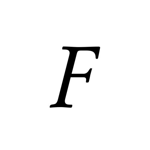 Aegyptus, Regular - F