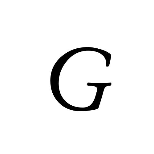 Aegyptus, Regular - G