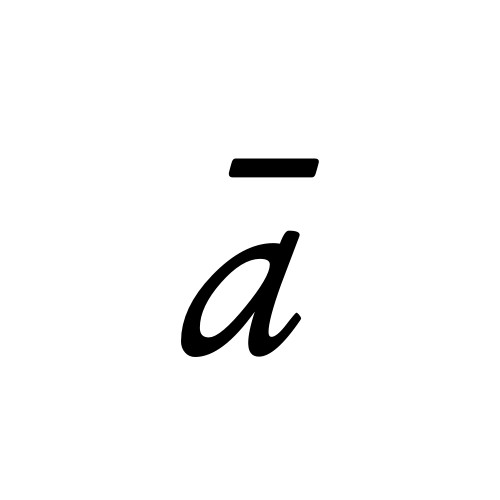 ā latin small letter a with macron aegyptus regular graphemica