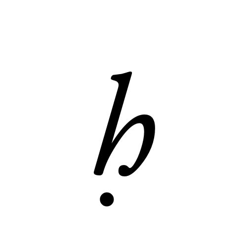 Aegyptus, Regular - ḥ