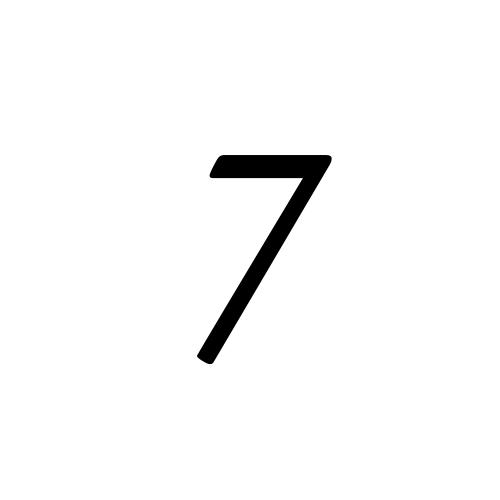 Musica, Regular - 7