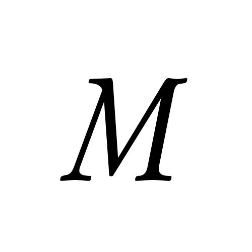 Musica, Regular - M