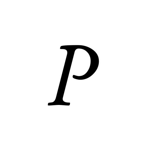Musica, Regular - P