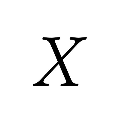 Musica, Regular - X
