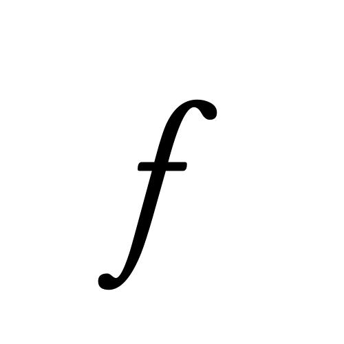 Musica, Regular - f