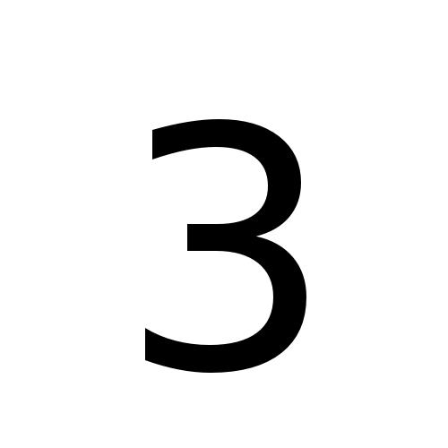 DejaVu Sans, Book - 3