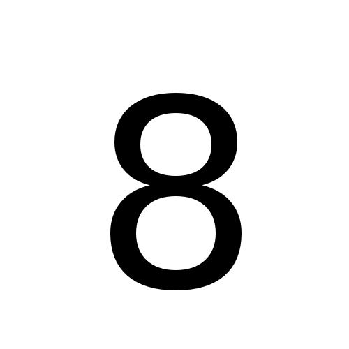 DejaVu Sans, Book - 8