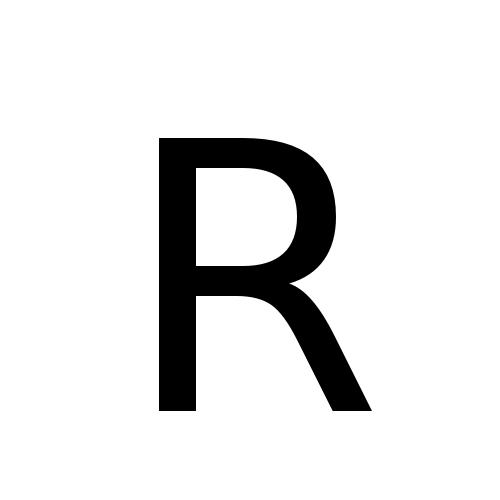DejaVu Sans, Book - R