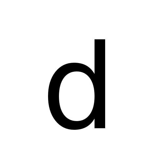 DejaVu Sans, Book - d
