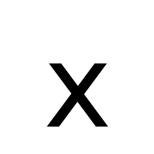 DejaVu Sans, Book - x