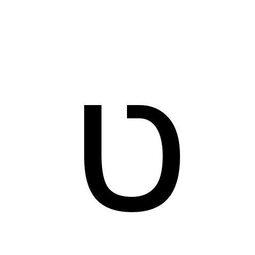 DejaVu Sans, Book - ט