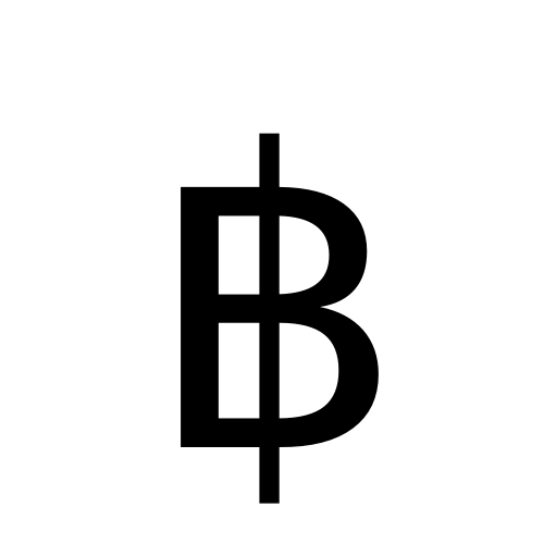 Image result for baht symbol