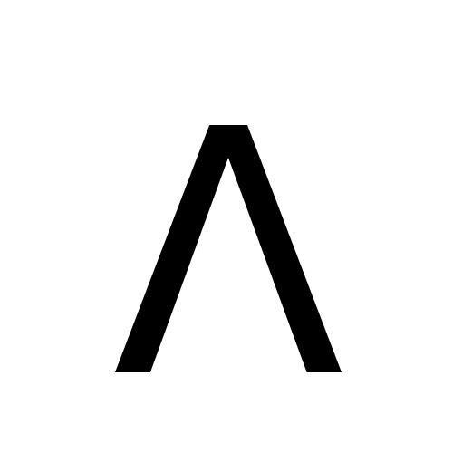 DejaVu Sans, Book - ᐱ