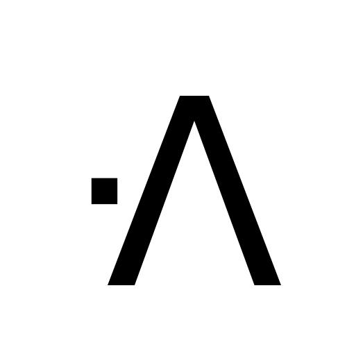 DejaVu Sans, Book - ᐼ