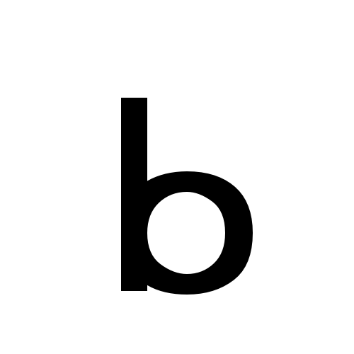 DejaVu Sans, Book - ᖯ