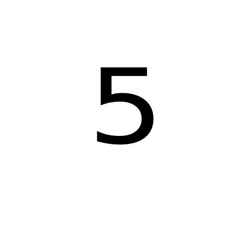 DejaVu Sans, Book - ⁵