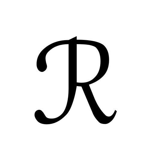 DejaVu Sans, Book - ℛ