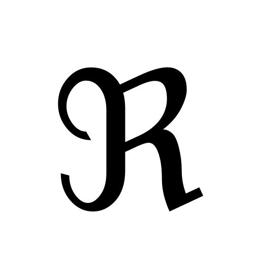 DejaVu Sans, Book - ℜ