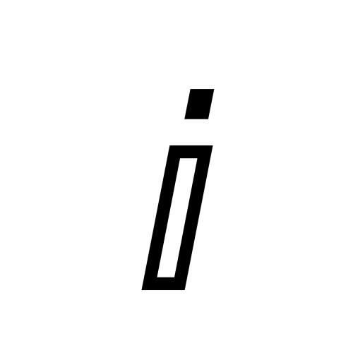 DejaVu Sans, Book - ⅈ