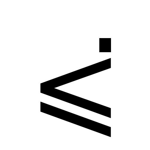 DejaVu Sans, Book - ⪃