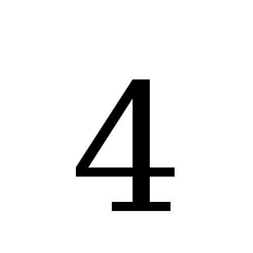 DejaVu Serif, Book - 4