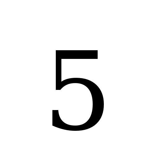 DejaVu Serif, Book - 5