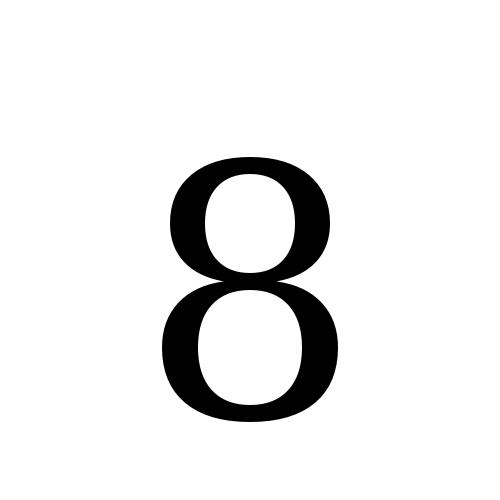 DejaVu Serif, Book - 8