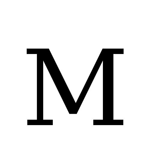 DejaVu Serif, Book - M