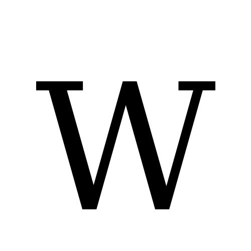 DejaVu Serif, Book - W