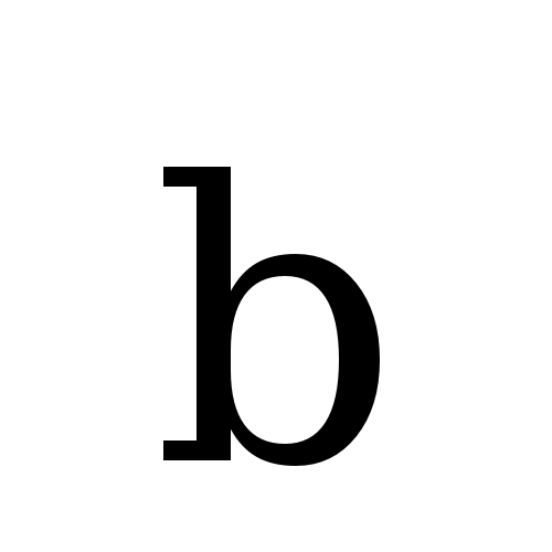 DejaVu Serif, Book - b