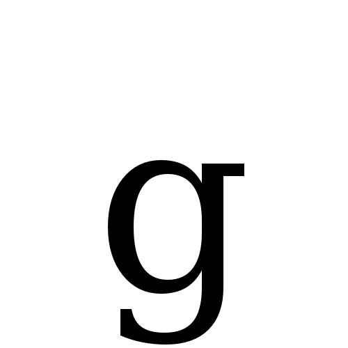 DejaVu Serif, Book - g