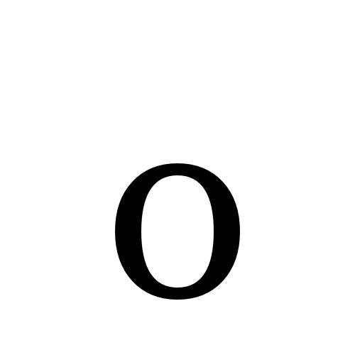 DejaVu Serif, Book - o