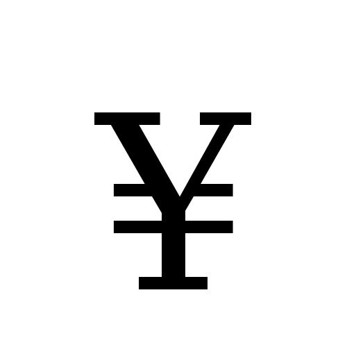 DejaVu Serif, Book - ¥