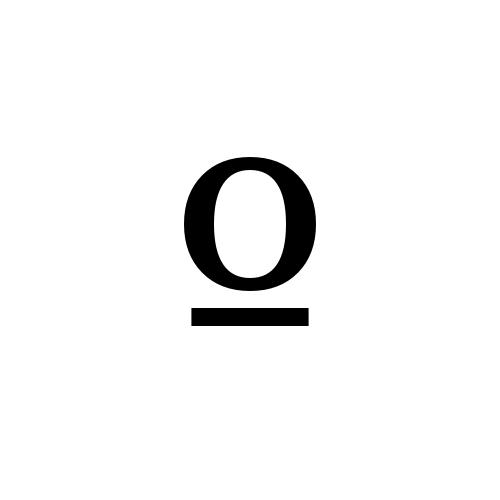 DejaVu Serif, Book - º