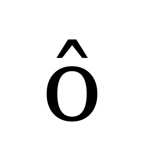 DejaVu Serif, Book - ô