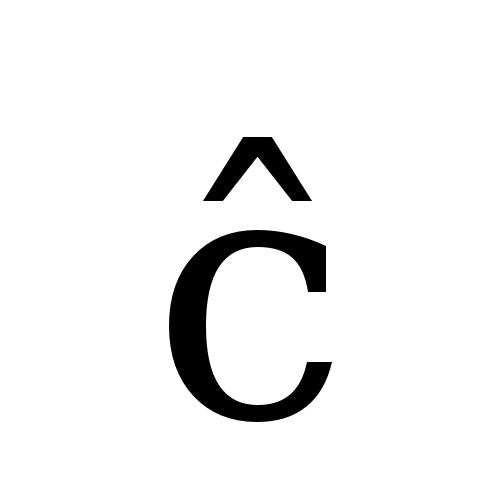 DejaVu Serif, Book - ĉ